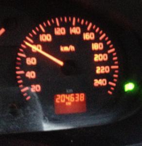 204638 Kilometer in 15 Jahren, da geht noch was